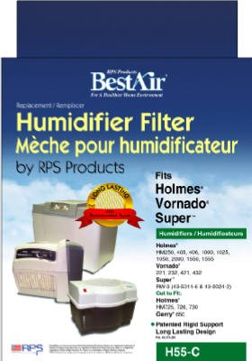 Holmes Humidifier Wick Filters Circular For Models: Hm-250, Hm-405, Hm-406, Hm-2000