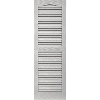 Vantage 0114043030 14X43 Louver Arch Shutter/Pair 030, Paintable from The TAPCO Group - DROPSHIP