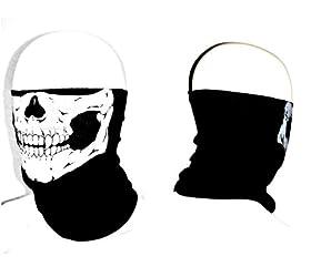 Meta-U Stretchable Tubular Skull Face Mask Motorcycle Biker Snowboards