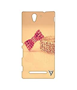 Vogueshell Vintage Printed Symmetry PRO Series Hard Back Case for Sony Xperia C3