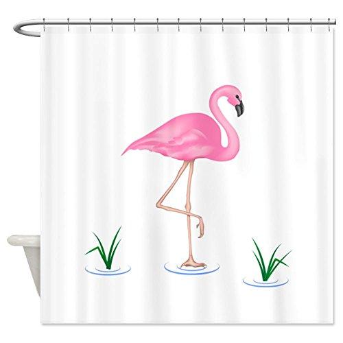 Flamingo curtains flamingo shower curtain ivory for Fenicottero arredamento