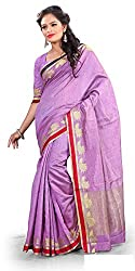 Sangeeta Textiles Cotton Saree(SAN649-D_Purple)