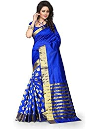 Sarees (Women's Clothing Designer Wear Low Price Sale Offer Buy Online In Multi-Coloured Cotton Silk Material...