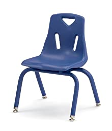 Berries 8122JC1003 Stacking Chair with Powder-Coated Legs, 12\