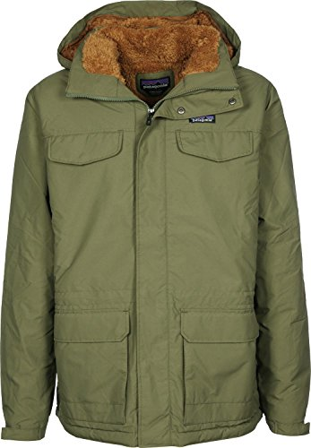 Patagonia Isthmus Parka fatigue green/bear brown