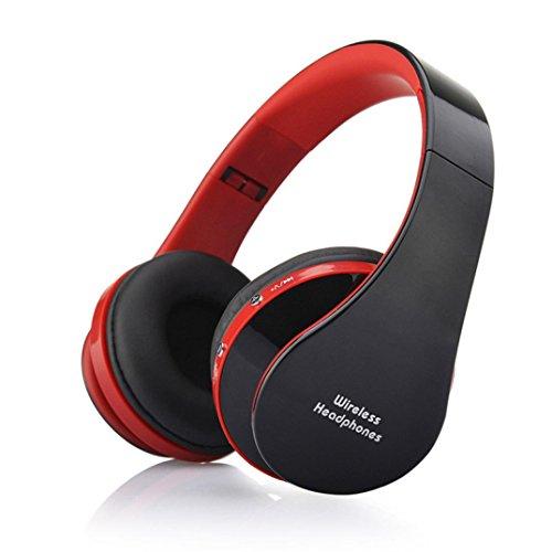 C 'est Faltbare Kabellose Bluetooth-Stereo Headset Handsfree Kopfhörer Mikrofon