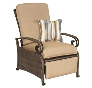 Amazon.com : Lake Como Patio Recliner by La-Z-Boy Outdoor : Lounge