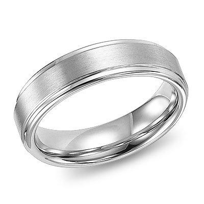 Triton White Tungsten Ring 11-2133HC