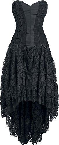 Burleska Helena Dress Abito lungo nero S
