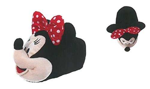 Minnie Disney Pantofole Moppine Minnie fiocco pois 35/37- 37/39- 39/41 SFIZIOSA (37/39)