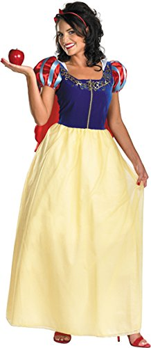 Disguise Costumes Snow White Deluxe Costume, Adult, Small (4-6)