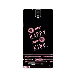 Ebby Happy and Kind Premium Printed Case For InFocus M330