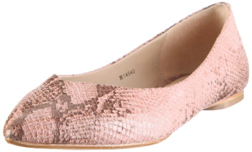 ESPRIT Collection ANDREA SNAKE BALLERINA R14540, Damen, Ballerinas, Rosa (rose 690), EU 39 thumbnail