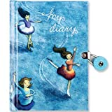 Ice Skaters Locked Diary
