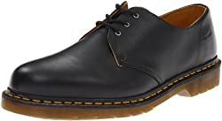 Dr. Martens 1461 Gibson Oxford Shoe Black Nappa 8 F(M) UK / 9 D(M) US