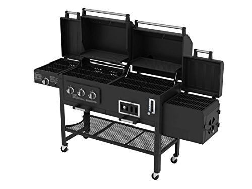 Smoke Hollow 8500 LP Gas/Charcoal Grill with Firebox (Smoke Hollow Charcoal Grill compare prices)