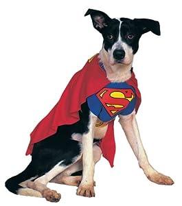 Rubie s Costume Co 6133 Superman Pet Costume Size Small