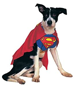 Costume Co 6133 Superman Pet Costume Taille de Rubie Grand