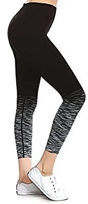 Prolific Health Fitness Power Flex Yoga Pants Leggings - All Colors - XS - XL