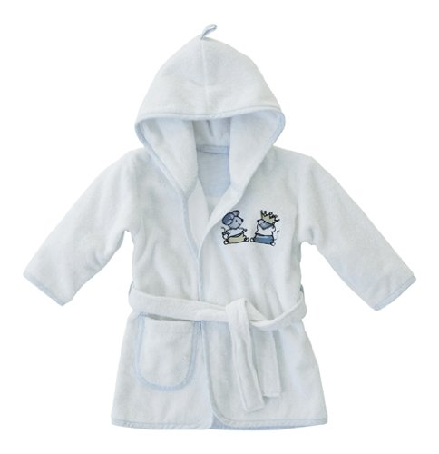 Bebe-Jou Little Mice Bath Robe (Blue)