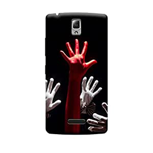Phone Candy Designer Back Cover with direct 3D sublimation printing for Lenovo A2010