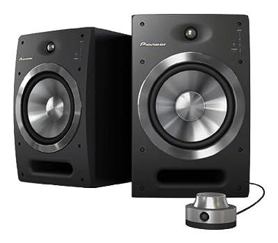 Pioneer S-DJ08 Studio Monitor, Silver by Pioneer Pro DJ