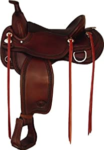 Tex Tan Wide Memphis Flex Trail Saddle