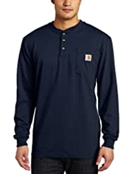 Carhartt Men's Long Sleeve Workwear Henley Shirt