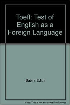 Test of English as a Foreign Language - TOEFL ... - catking.in