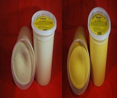 African Shea Butter Combo Pack 2lb White & 2lb Yellow 32oz
