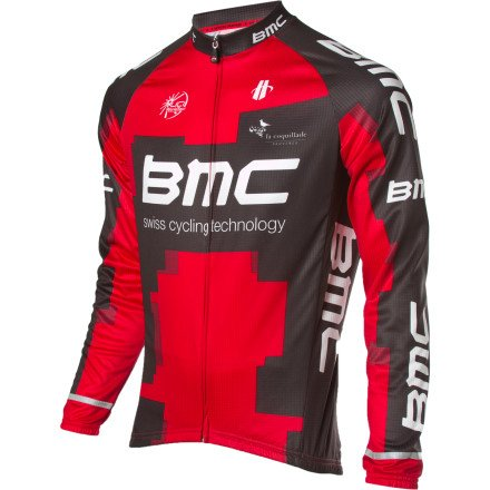 Buy Low Price Hincapie Sportswear 2012 BMC Team Jersey – Long-Sleeve – Men's (B007C29VZE)