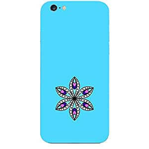 Skin4gadgets Artistically Drawn Mandala Tattoo In Pastel Colors -Aqua Blue, No.11 Phone Skin for APPLE IPHONE 6S PLUS