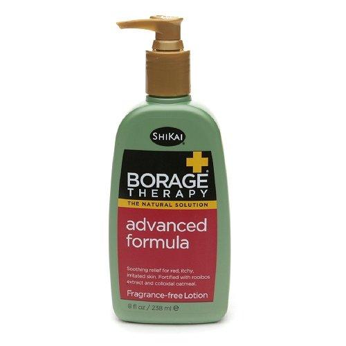 Shikai Advanced Formula Borage Therapy Skin Lotion, 8 Ounce -- 2 per case.