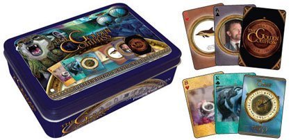 Golden Compass Playing Card Tin