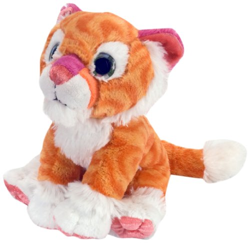 "Wild Republic Sweet and Sassy Tiger Tangerine 8"" Plush"