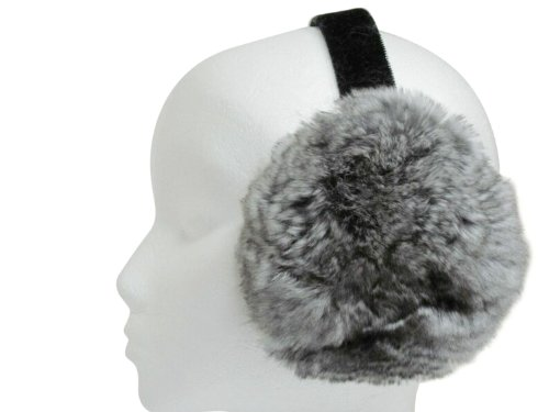 Second Best Natural Chinchilla Ear Muffs