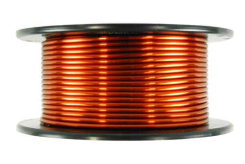Temco 10 Awg Copper Magnet Wire - 1.5 Lb 47 Ft 200Øc Magnetic Coil Winding