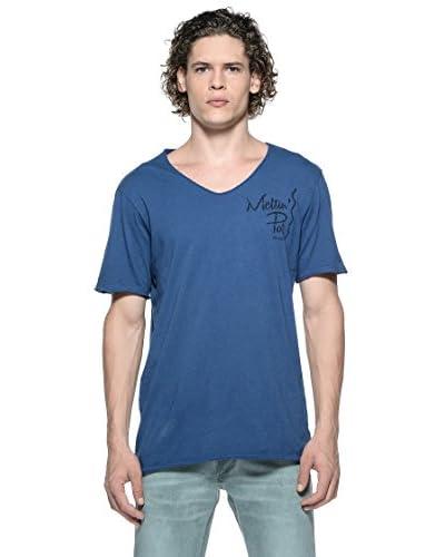 Meltin'Pot T-Shirt Achille [Blu]