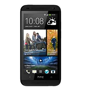 HTC Desire 601 Smartphone débloqué 4G Ecran 4,5 pouces Mémoire 8 Go 5 Mégapixels Android 4.2.2 Jelly Bean Noir