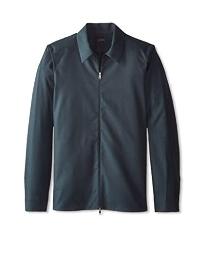 Jil Sander Men's Dedica Zipped Sport Shirt