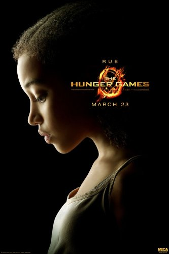 The Hunger Games Limited Edition Character Posters - Rue 27