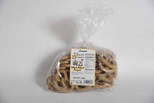 Uncle Henry'S 2X3 Lb. Bagswhole Wheat Sesame Pretzels front-277111