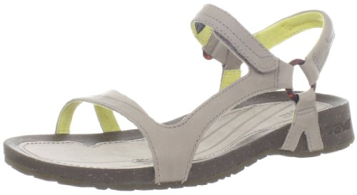 Teva Cabrillo Universal Leather 8780, Sandali donna, Grigio (Grau (moon rock/yellow 687)), 40