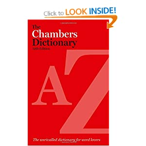The Chambers Dictionary, 12th Edition Editors of Chambers