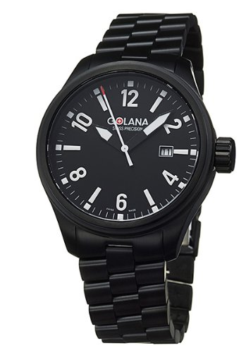 Golana Terra Pro Black Swiss Made All Terrain Men's Watch TE110-2