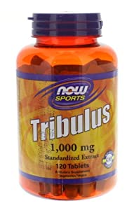 Now Foods Tribulus Tablets, 1000 mg, 0.65 Pound