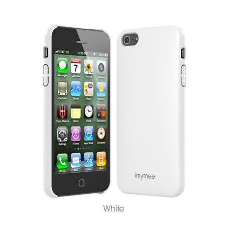 SP593:ICカード内部収納型iPhone5用ケース「LOCO High Glossy case(ロコハイグロッシーケース) for iPhone5」 (ホワイト) iPhone5 Suica PASMO ICカード