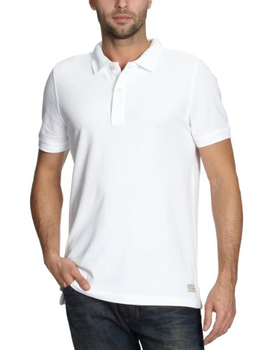 Cottonfield Kewin Polo Men's T-Shirt White Large