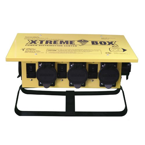 Coleman Cable 1970 Xtreme Box Straight Blade Portable Power Distributor