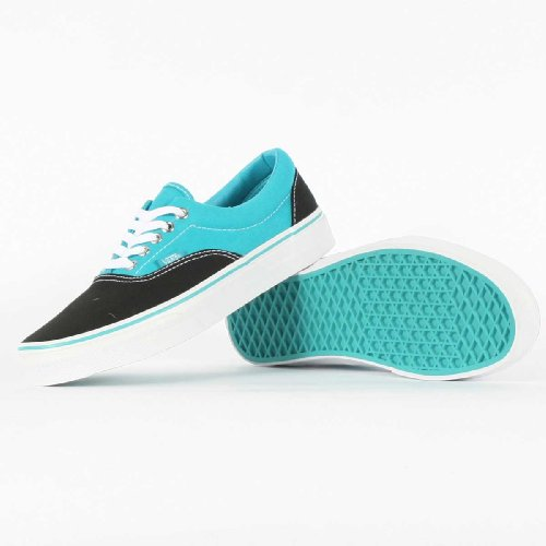 Vans Era Black/Peacock Blue Shoes Trainers UK 7